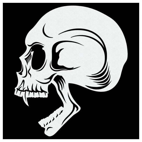 Skull #07 | Totenkopf Airbrush Schablone A5