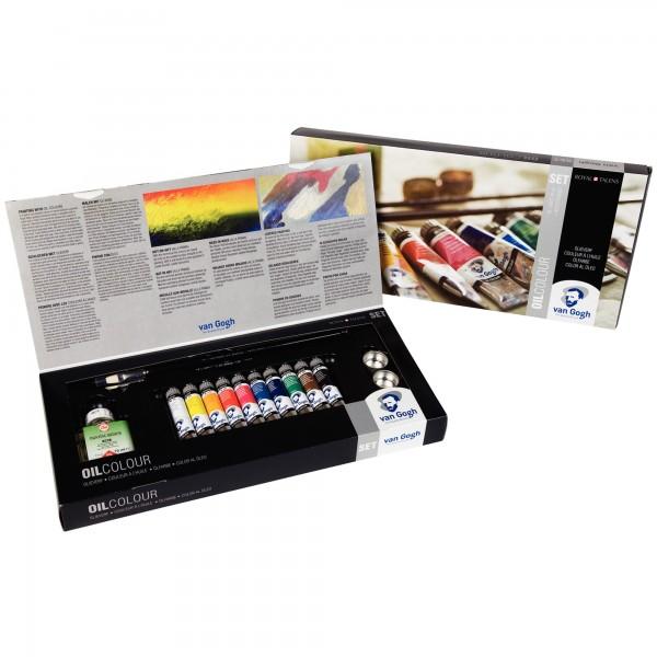 Van Gogh Ölfarben | Malkasten Kombi Set