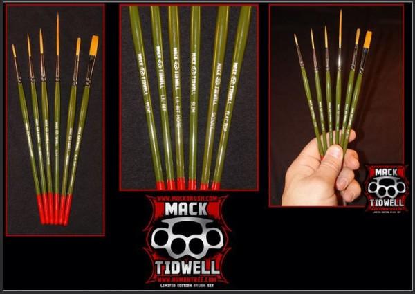 Tidwell Set | 6er Mack Brush Set |-Image