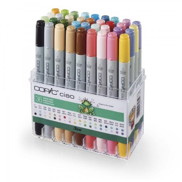 Brilliante Farben | COPIC ciao | 36 Farben