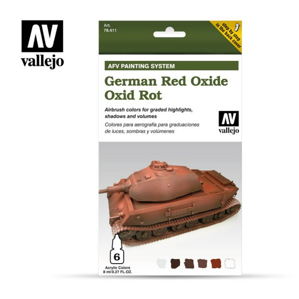 AFV Armour System | German Red Oxide