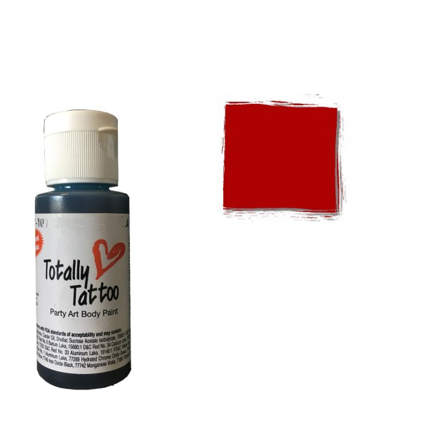 Badger Airbrush Tattoo Farbe | 30ml | Really Red-Image