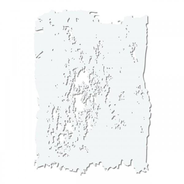 Grunge FX #1   Effekt & Textur Airbrush Schablone ca. 19 x 26cm
