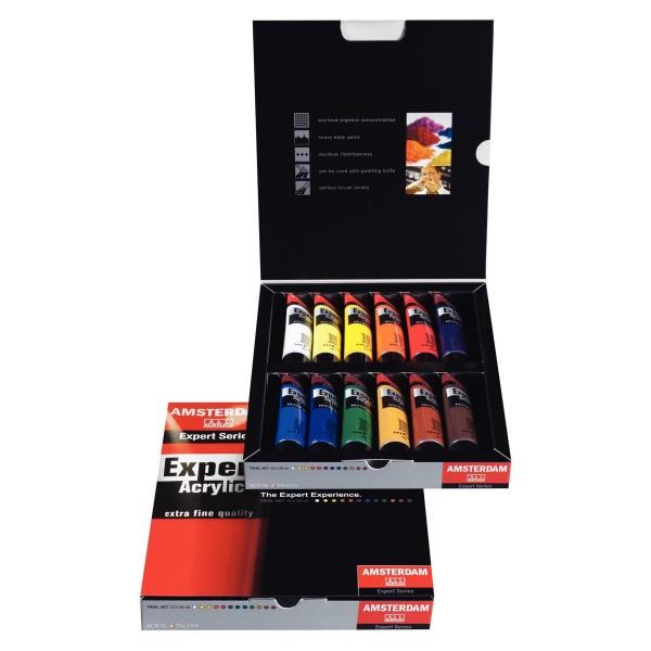 Expert Acrylfarben Set 12x 20ml   Talens