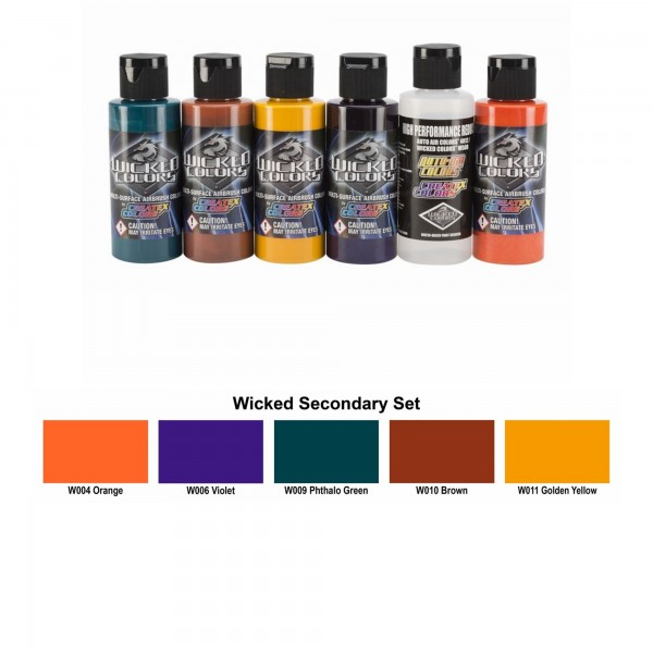 Secondary Set | Wicked Colors