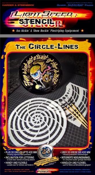LightSpeed Stencil | Circle Lines-Image