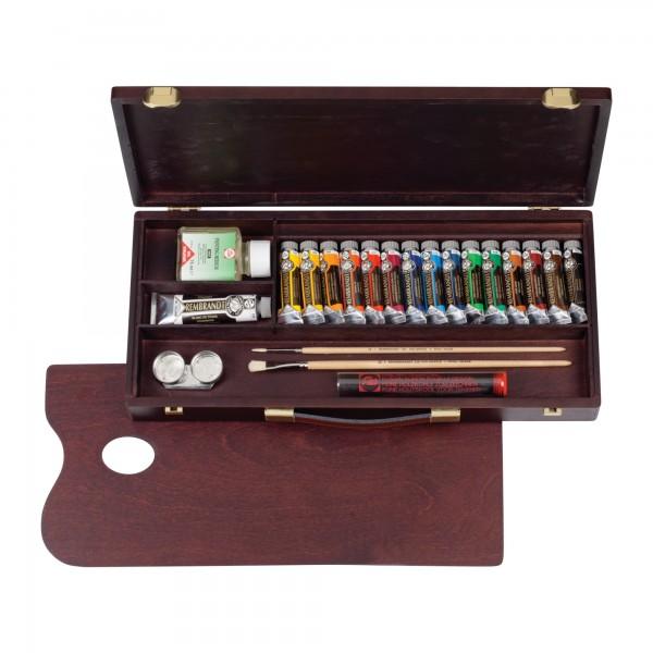 Rembrandt Ölfarben | Holzkasten Traditional