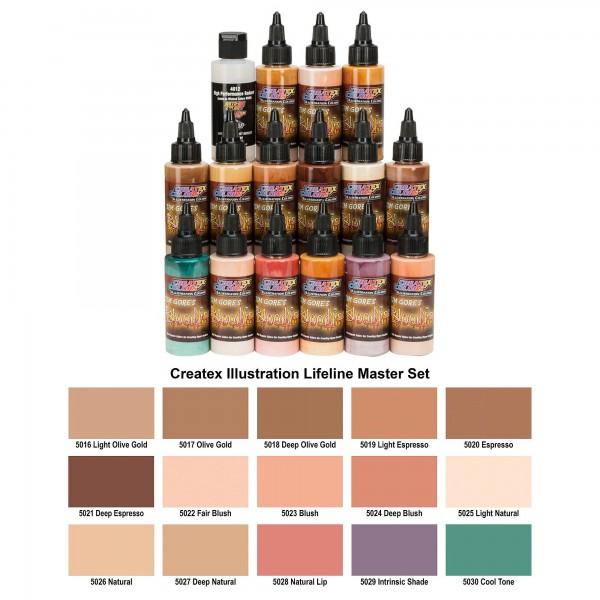 Lifeline Master Set | Createx Illustrations Color