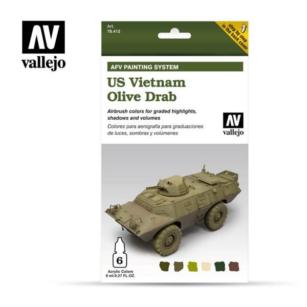 AFV Armour System | US Vietnam Olive Drab