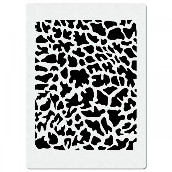 Giraffe Fellmuster #2 | Struktur Airbrush Schablone