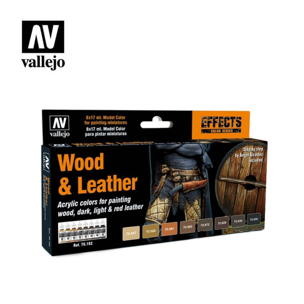 Wood & Leather | Vallejo Effects