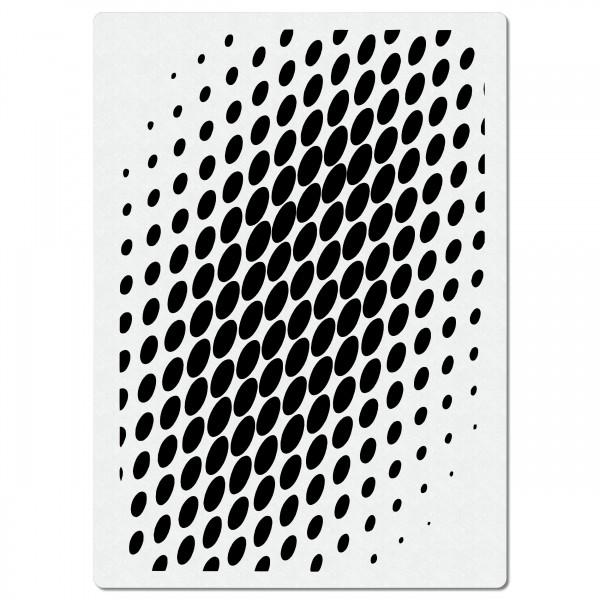 Kreise Halftones | Effekt Airbrush Schablone ca. 20x 28cm