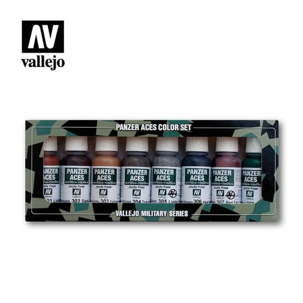 Rust, Tracks | Vallejo Panzer Aces Set